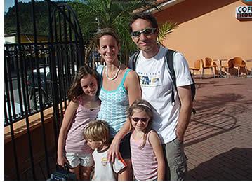 Programme de vacances en famille