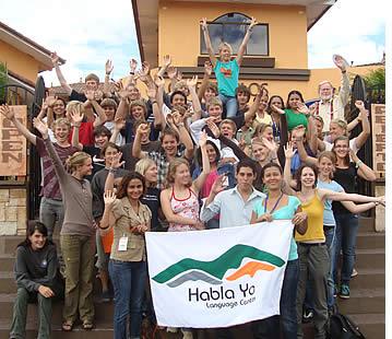 �l�ves du secondaire de l'Allemagne qui ont rejoint notre Programme d'espagnol pour groupes scolaires voyageant � l'�tranger