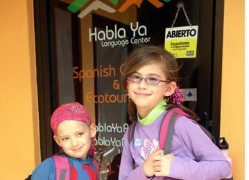Gr�ce � notre programme junior espagnol, nous offrons des cours d'espagnol aux enfants de partout dans le monde