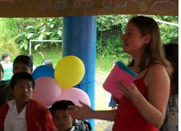 Apprendre l'espagnol et faire du b�n�volat assure un voyage int�ressant et enrichissant en Am�rique latine